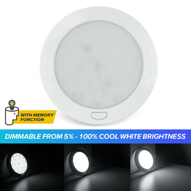Cool W 5 12V LED Ceiling Light With Switch RV Caravan
