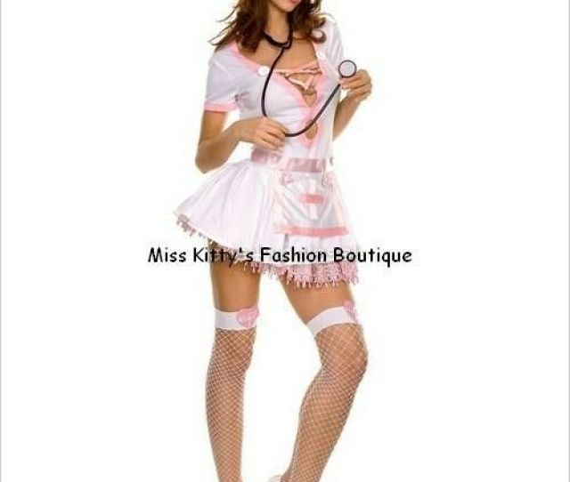 Details About New Nwt Music Legs Naughty Er Medical Triage Sexy Nurse Halloween Party Costume