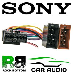 SONY CDX SERIES Car Radio Stereo 16 Pin Wiring Harness