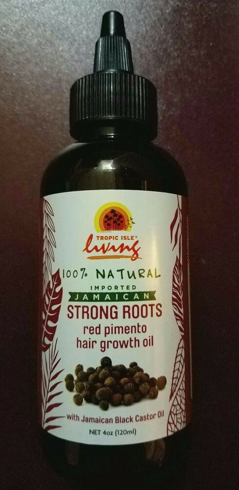 Tropic Isle Living Strong Roots Red Pimento Hair Growth