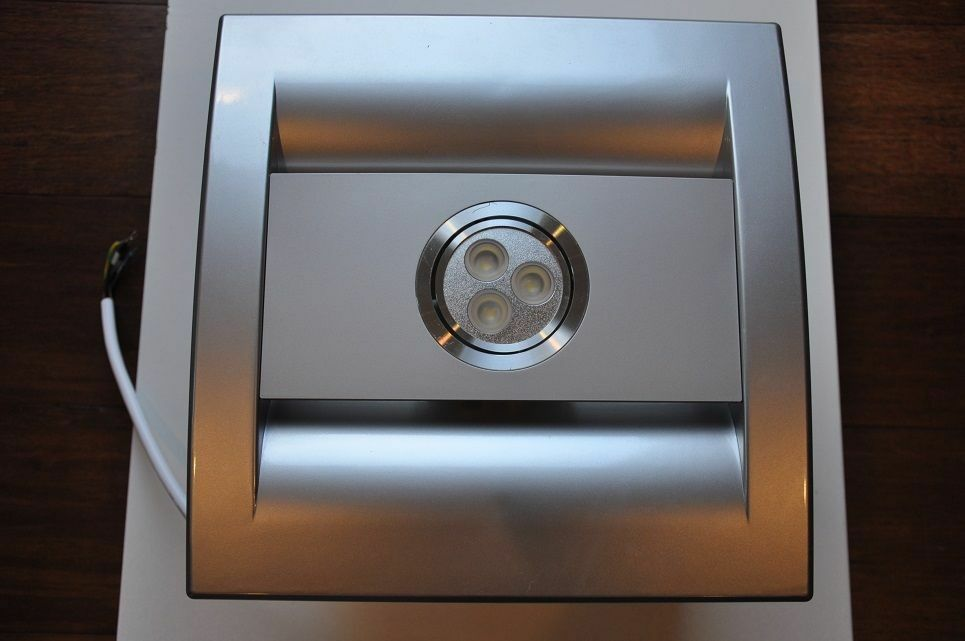 Led Bathroom Fan Light