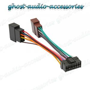 Sony 16 Pin ISO Wiring Harness Connector Adaptor Car