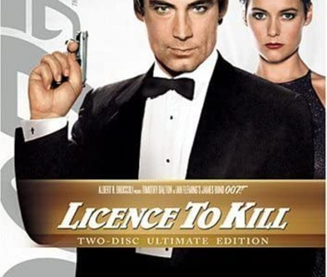 Image Is Loading License Licence To Kill Dvd James Bond 007