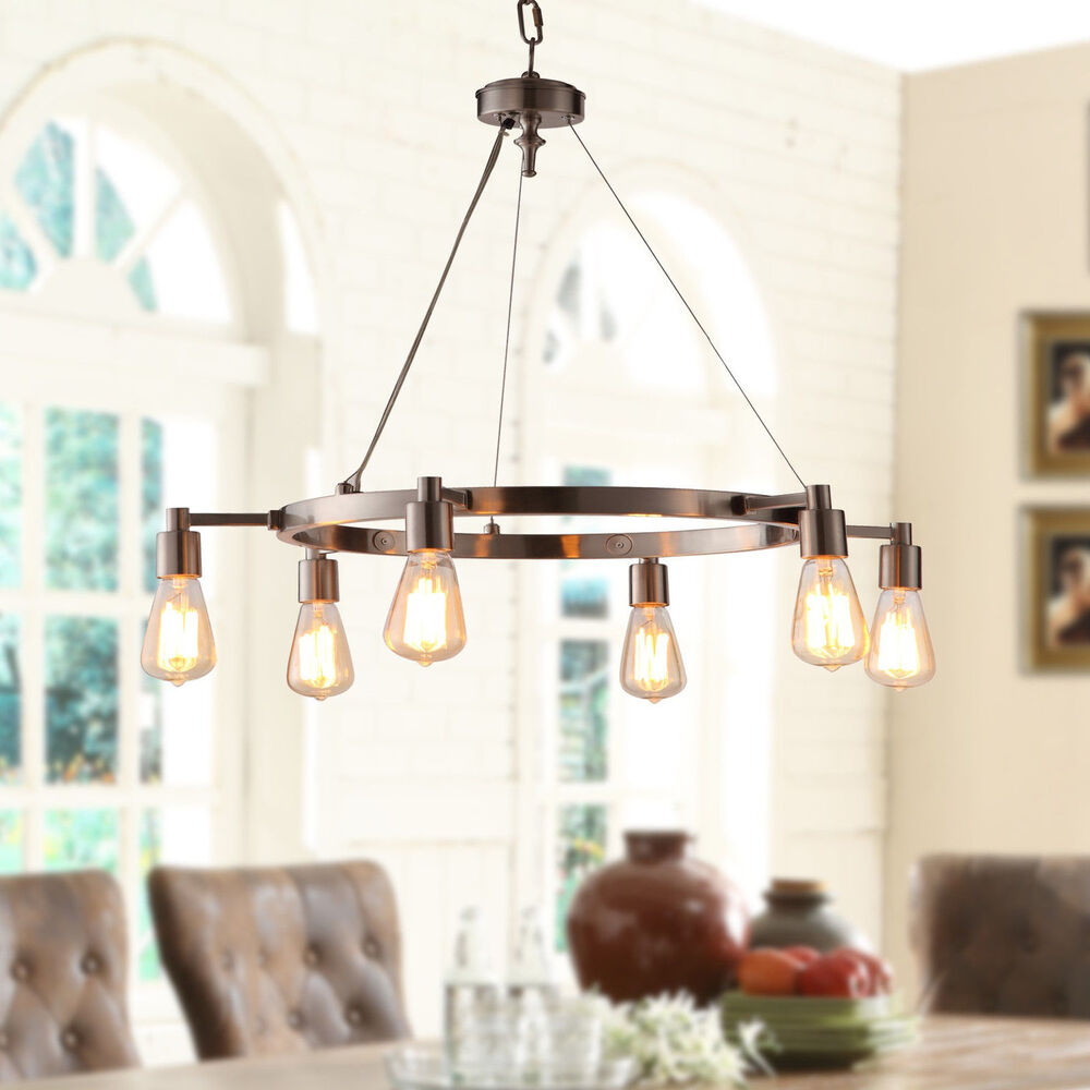 Brushed Nickel Hanging Light Fixtures