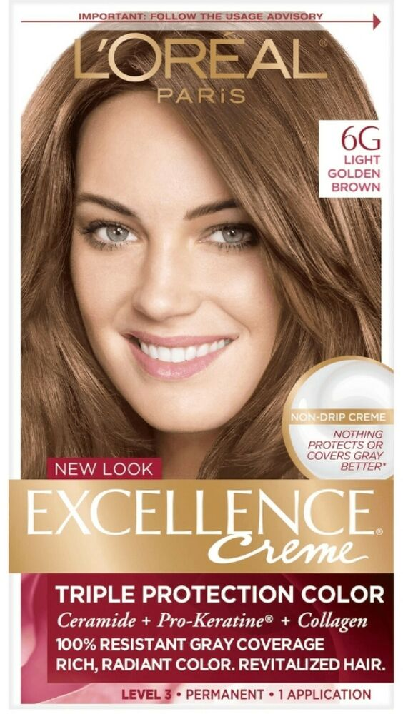 Revlon Hair Color Light Golden Brown