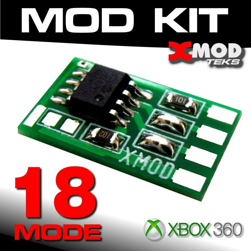 XMOD Rapid Fire MOD KIT XBOX 360 Modded Controllerone