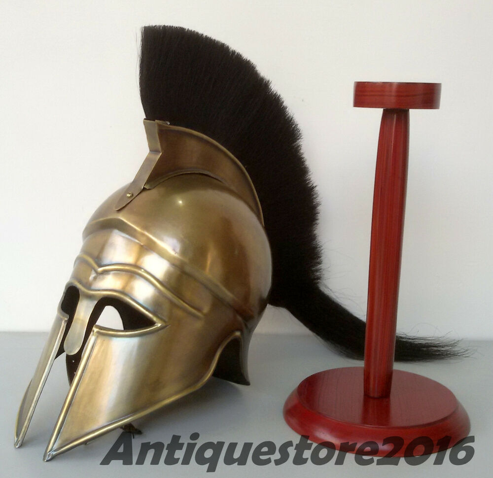 Knight Helmet With Plume