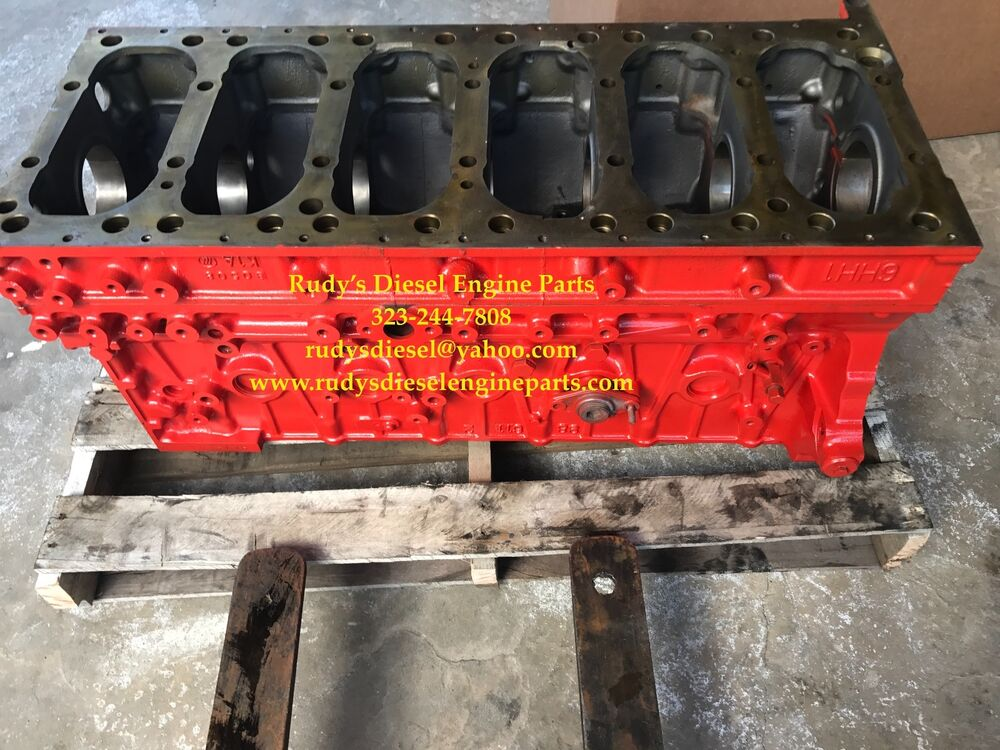 Isuzu 6HK1 7.8 Diesel Engine Bare Block
