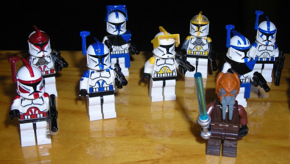 Clone Star And Wars Commanders Captains