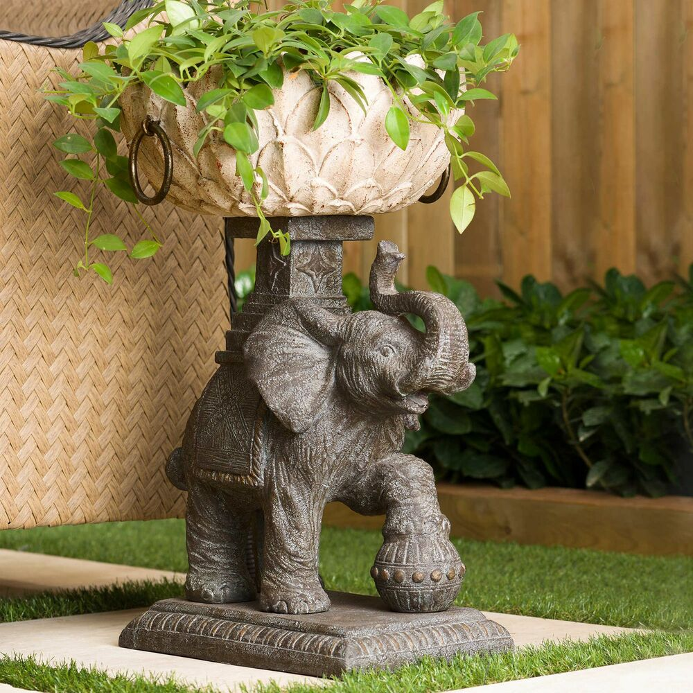 Tall Wooden Planters