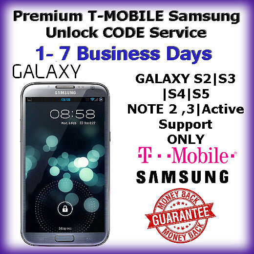 Unlock Samsung Note Tmobile