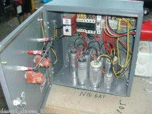 3 PHASE CONVERTER PLANS HOW IT WORKS 415V STATIC ROTARY