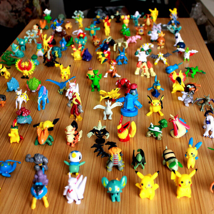 Mini Pokemon Figures Action