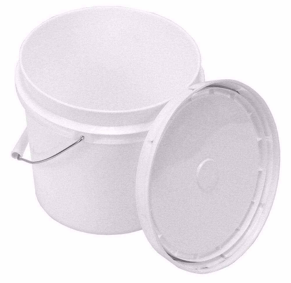 2 Gallon Food Grade Buckets