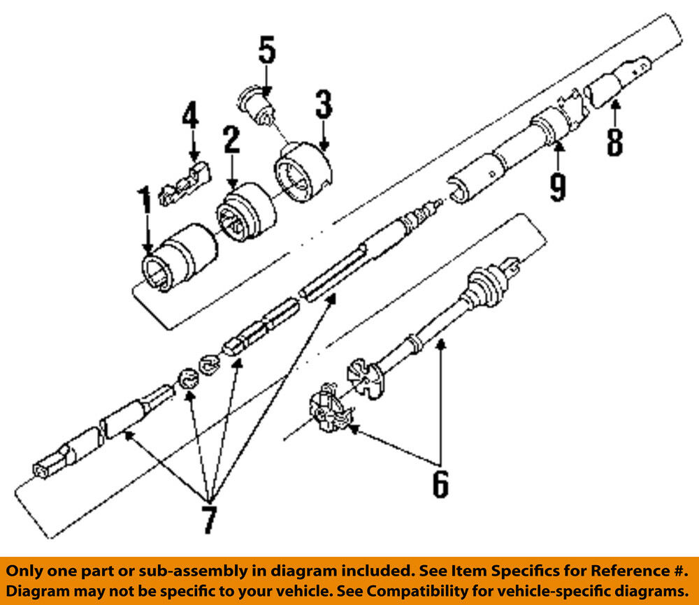 Ford F 250 Steering Column Parts Diagram 1983