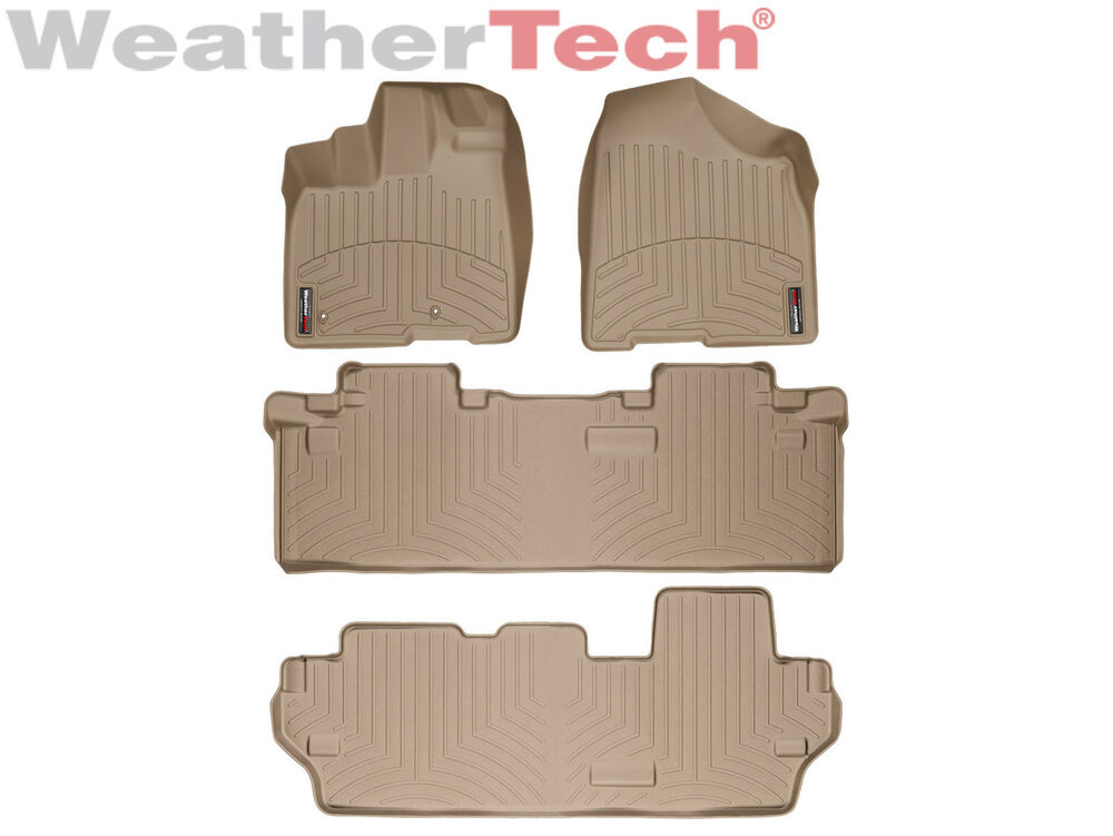 Sienna Mats 2011 Toyota Weather All