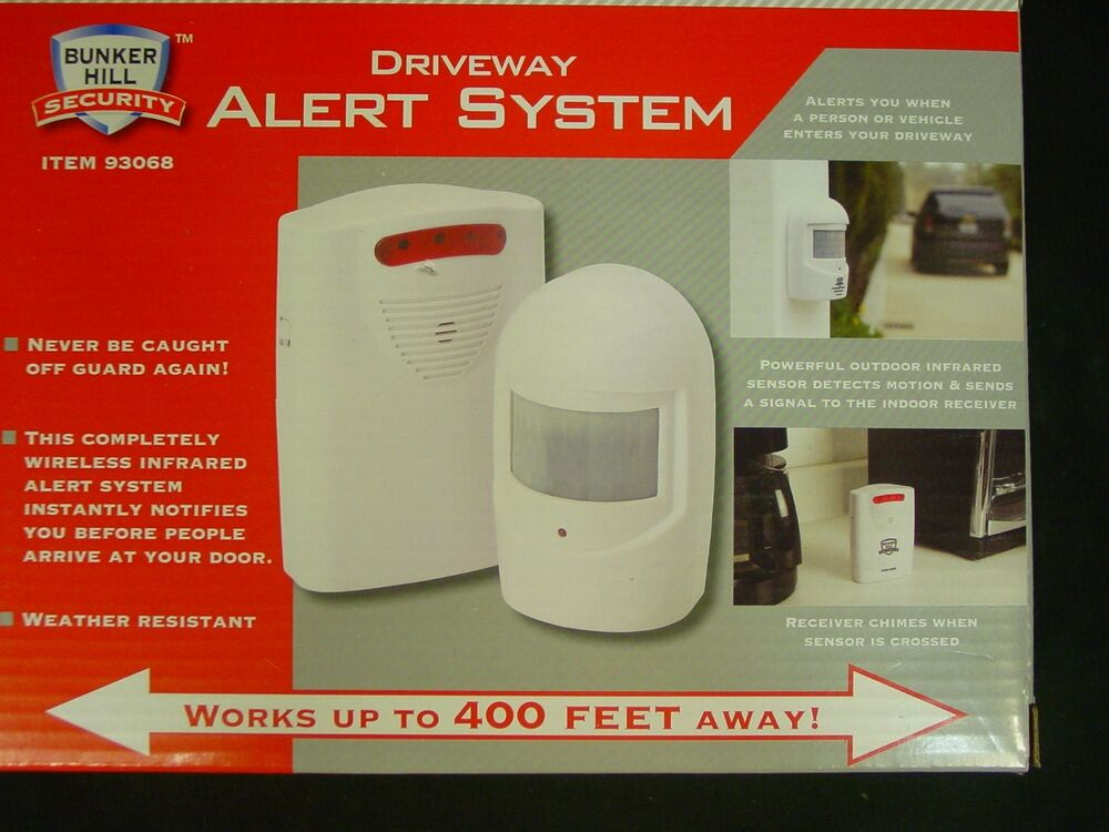 Bunker Hill Wireless Security Alert System 93068
