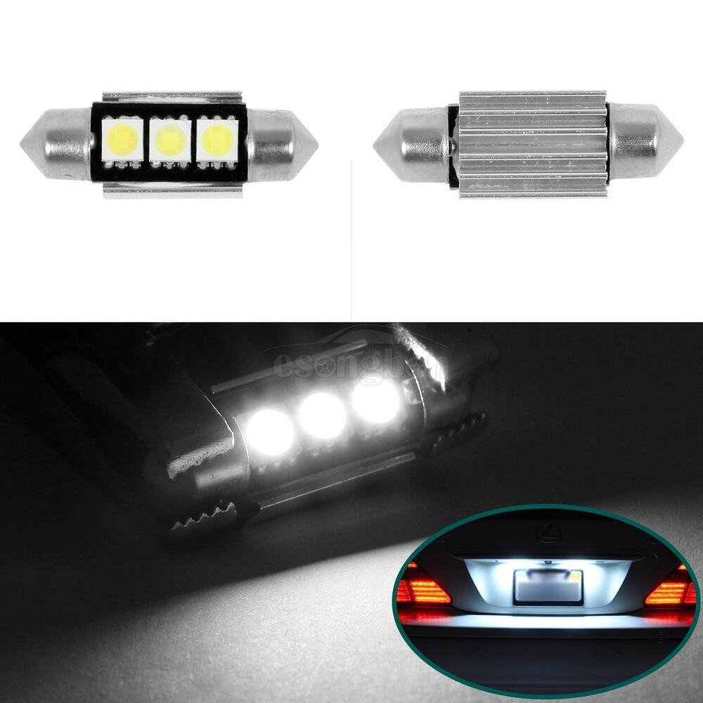 Mercedes License Plate Light Bulb