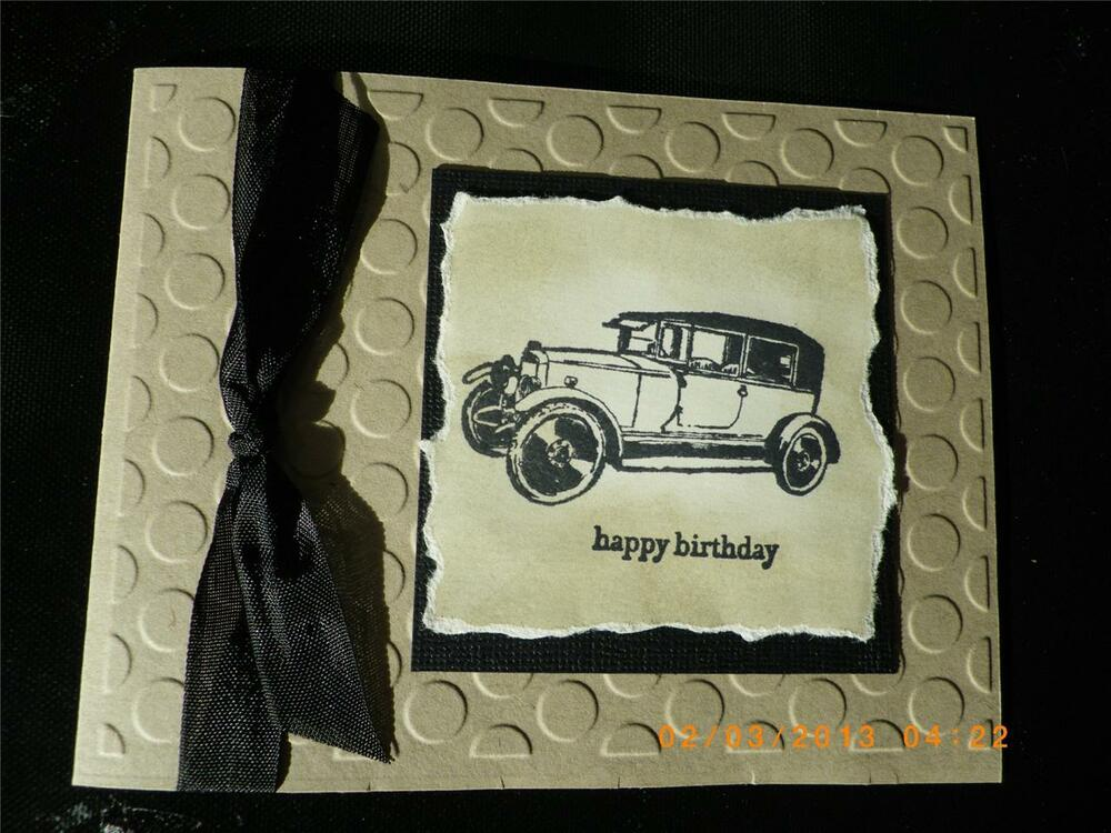 Stampin Up Birthday Card Ideas For Men