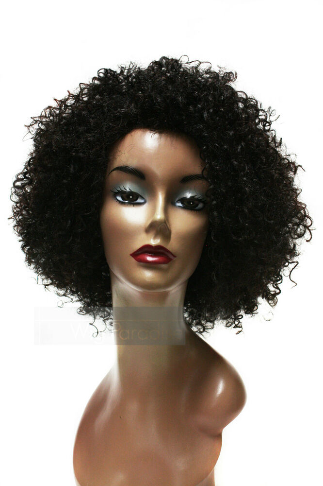 Synthetic Bohemian Tight Curl Afro Jerry Kinky Hair Style