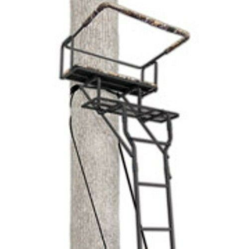 Stand Blinds Steel Man Ameristep Ladder Two Grey 15