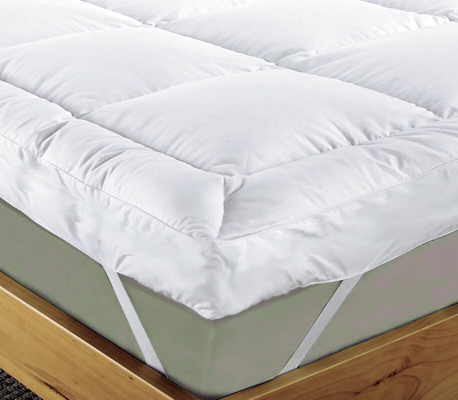New Branded 2inch 4inch luxury mattress topper (all sizes), 100% ...