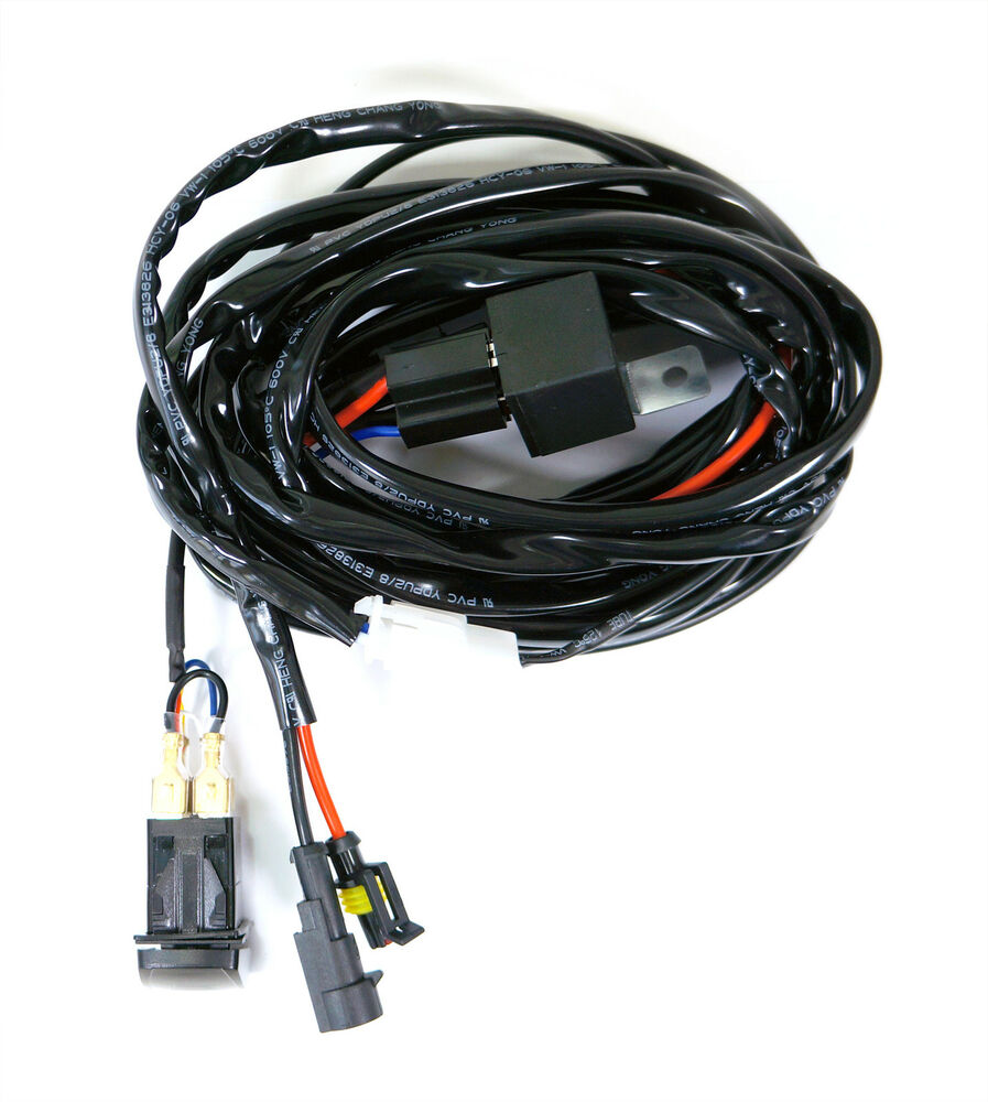Led Light Bar Wire Harness