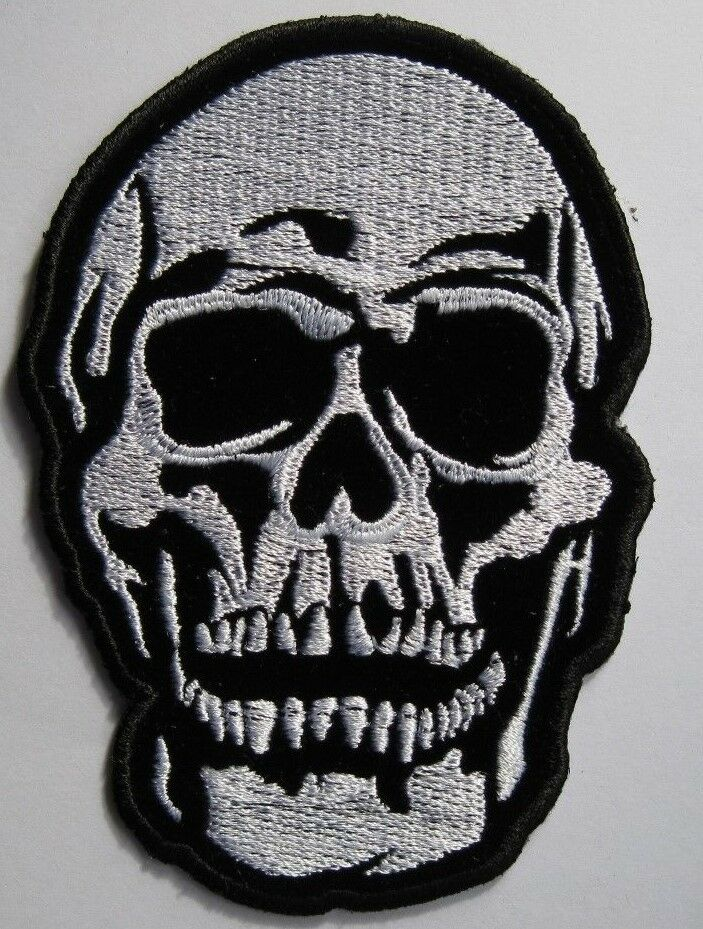 Reflective Embroidered Motorcycle Patches