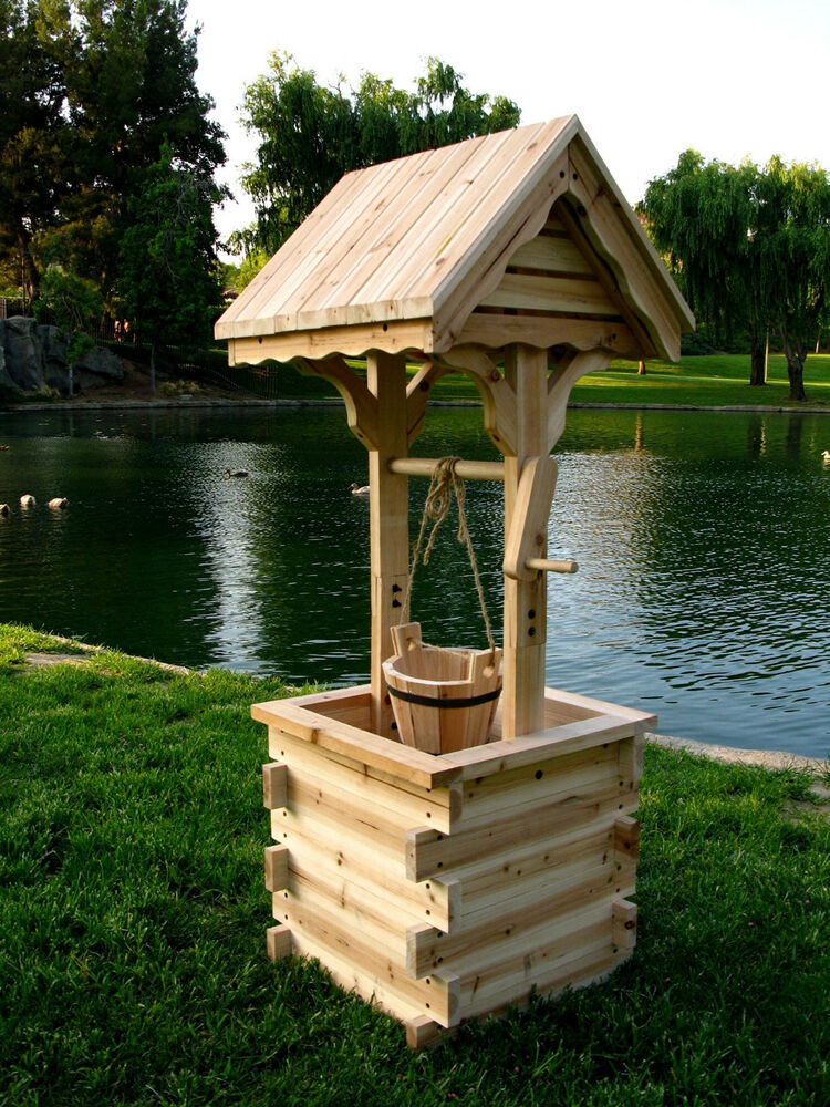 Garden Wishing Well Kits