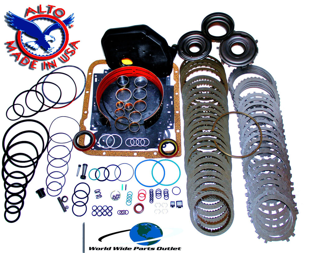 GM 4L60E Transmission Rebuild Kit 1997-2003 Stage 4 With 3