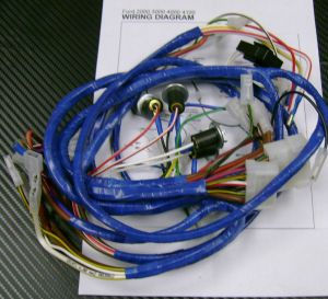 * Ford 2000,3000,4000,4100 Tractor Wiring HarnessLoom For