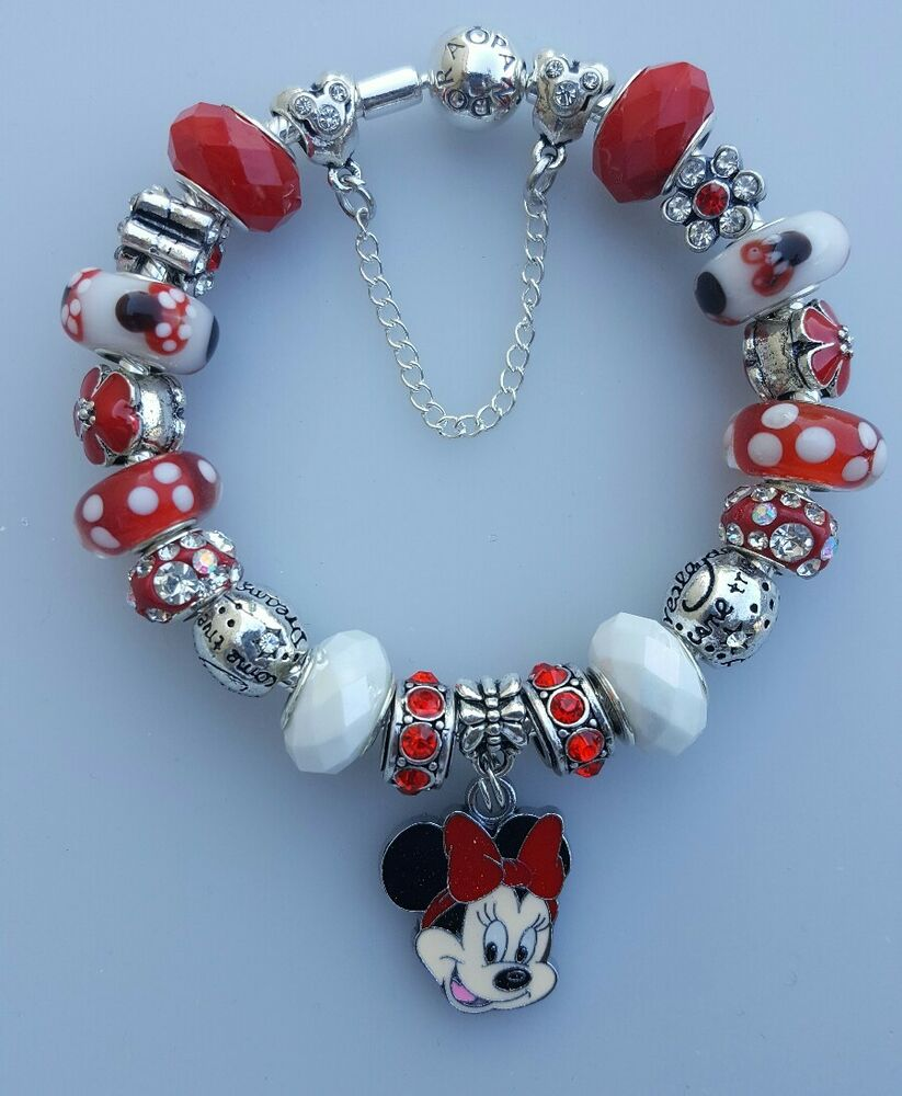 Authentic Pandora Bracelet Minnie Mouse Bracelet EBay