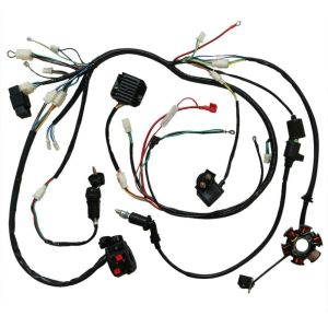 GY6 150cc Electric Wire Wiring Harness Solenoid Switch