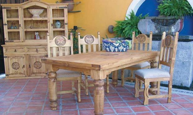 Rustic Mexican Dining Room Furniture