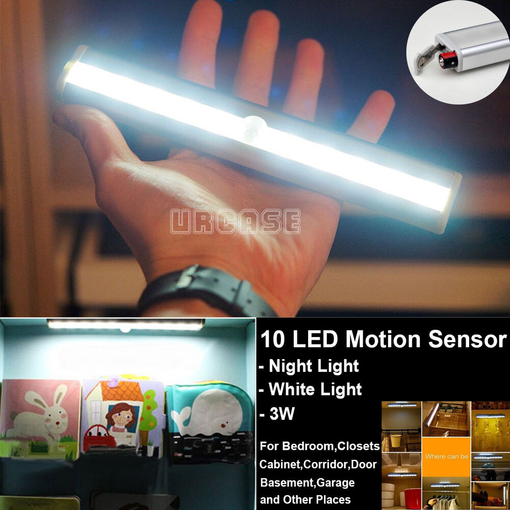 Battery Operated Led Light Motion Sensor
