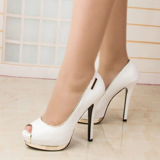 Designer White Wedding Shoes