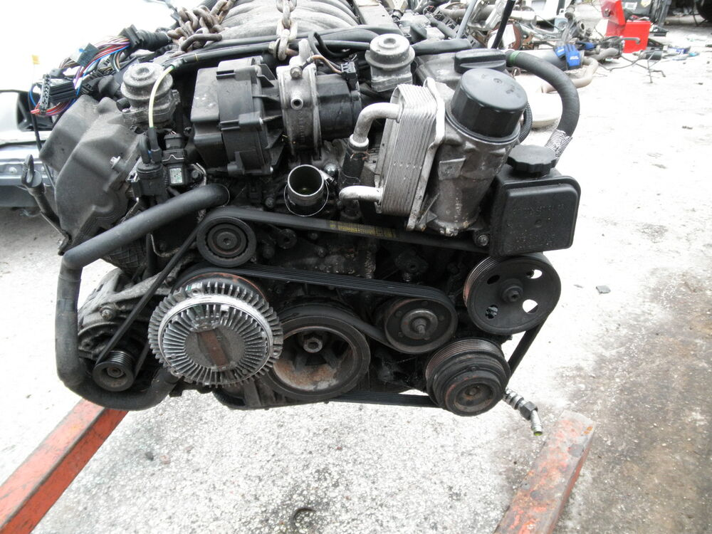 Mercedes 98 99 00 W202 M113 C43 Amg Engine Motor Complete
