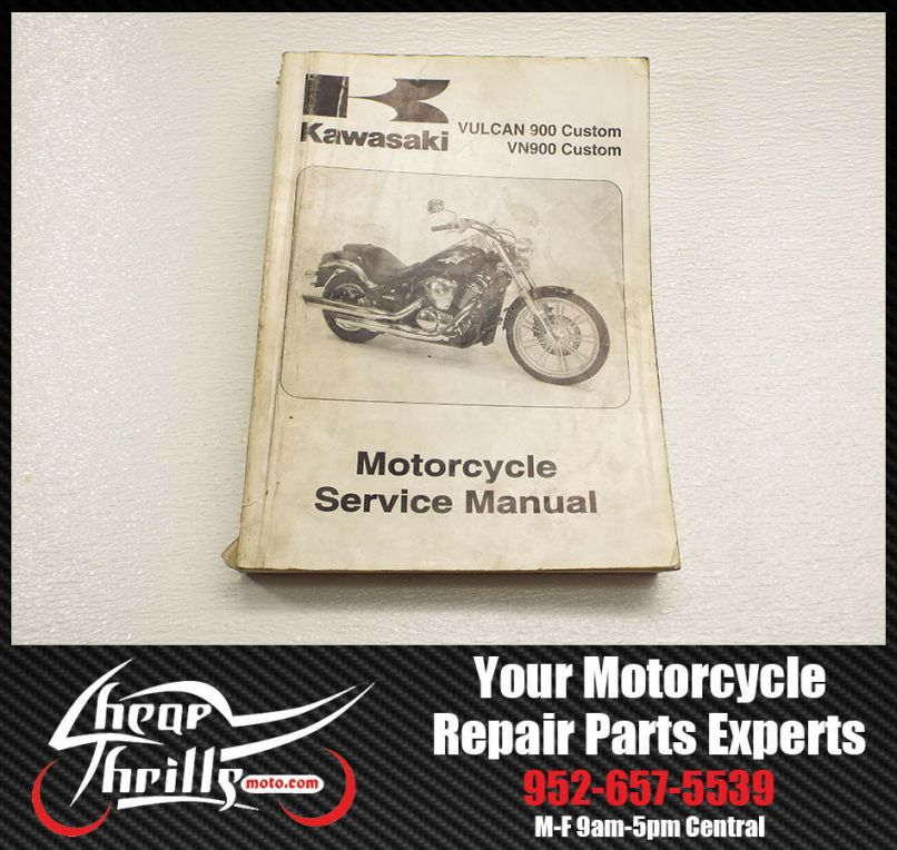 Kawasaki Vulcan 900 Parts Manual