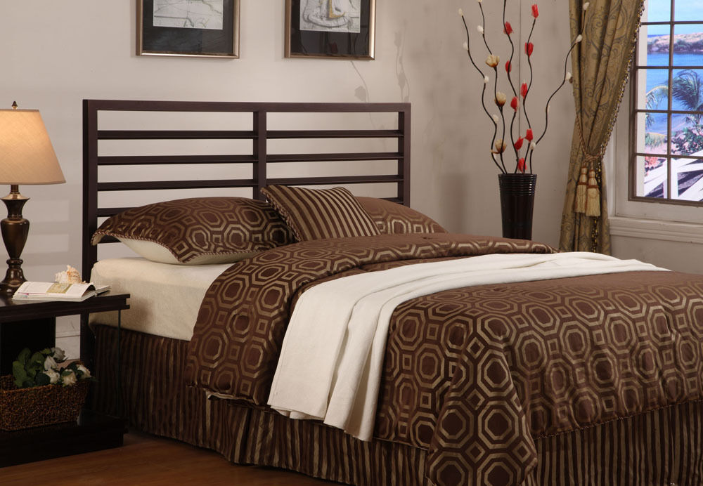 Bronze Metal Adjustable Full / Queen Size Headboard