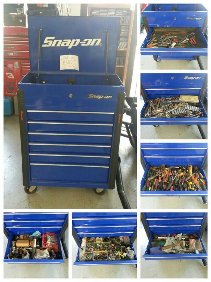 Snap Cover Tool Cart