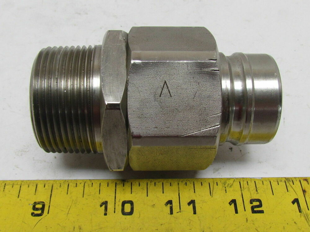 4 4 Quick X 3 3 Coupling Disconnect Cantilevering Npt