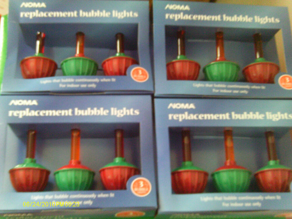 Christmas Bubble Light Replacement Bulbs