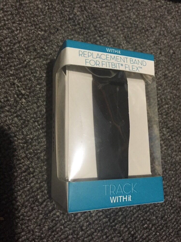 Fitbit Flex Band By Withit Black Fitbit Wristband