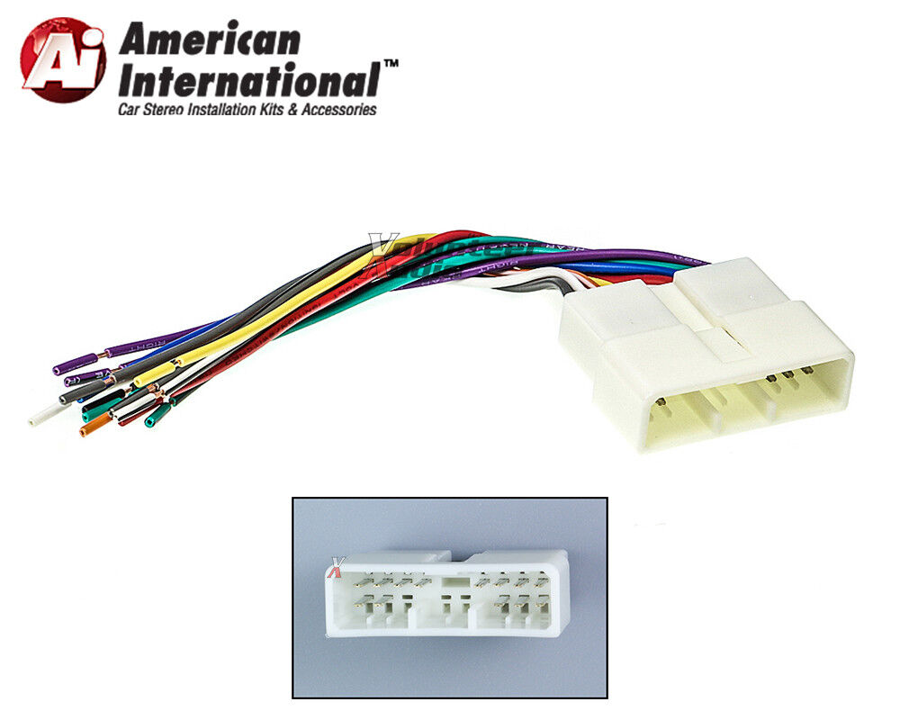 Honda Acura Car Stereo CD Player Wiring Harness Wire