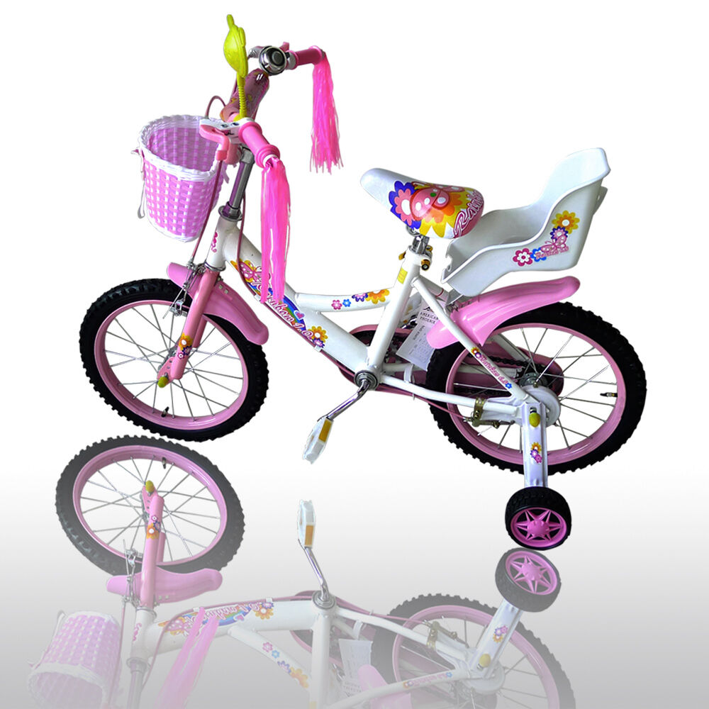 16 Girls Bicycle Doll Carrier