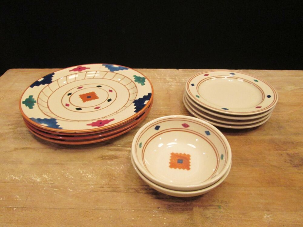 Colorful Pottery Dishes