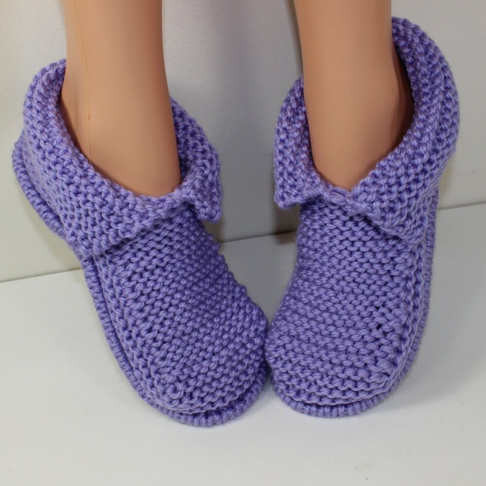 Free Knitting Patterns Easy Slippers