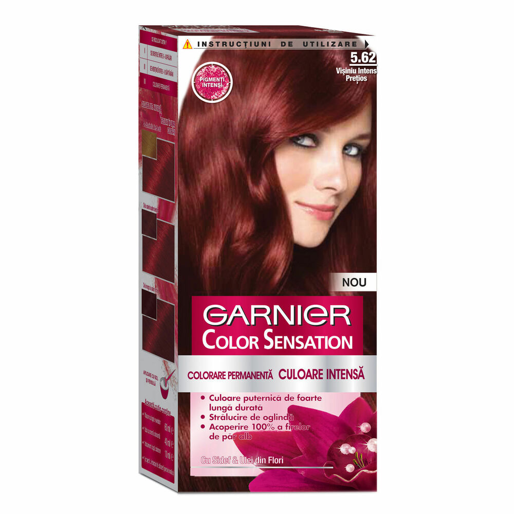 Garnier Color Sensation 562 Intense Garnet Red Hair Dye
