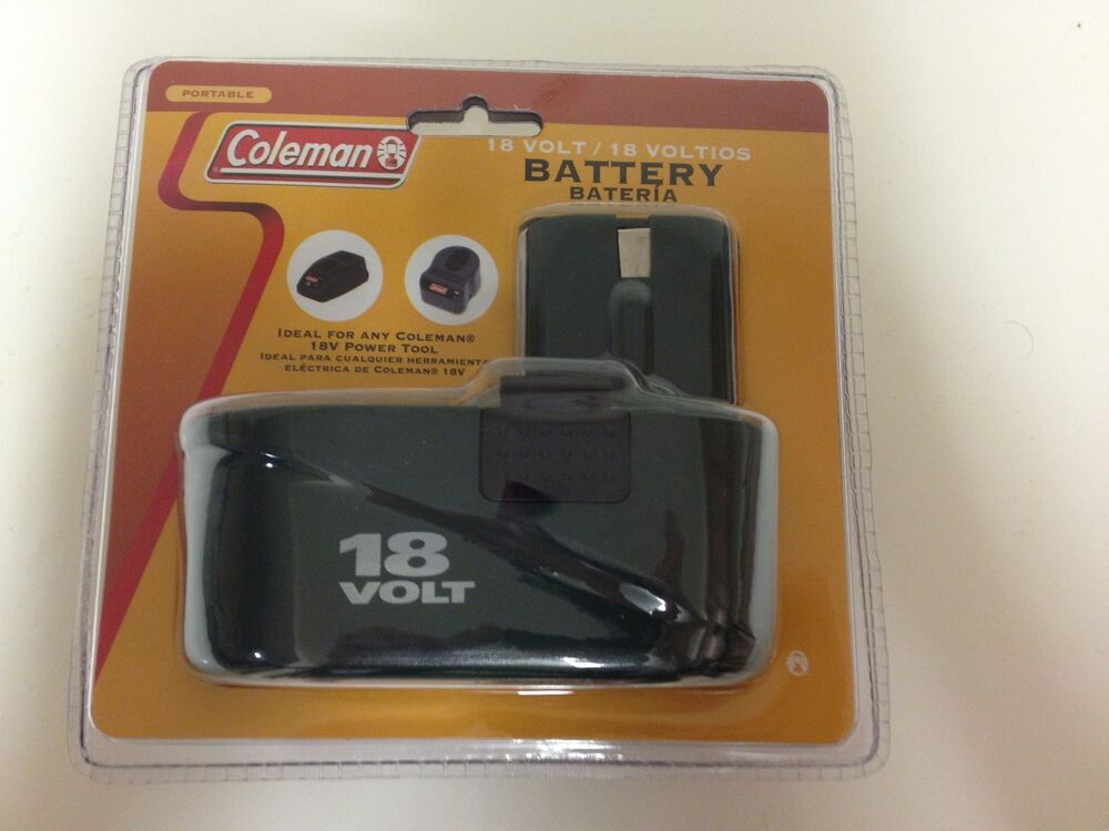 Battery Charger Coleman