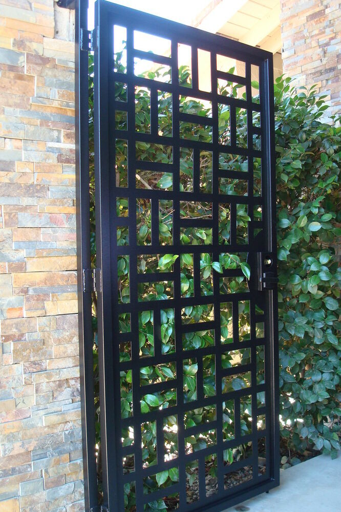 Ornamental Iron Yard Art